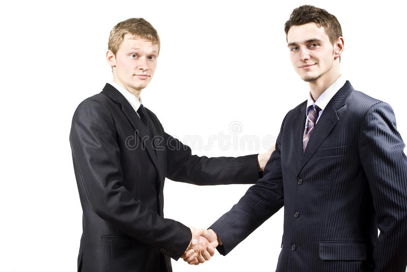 Cooperation Of Colleagues Stock Photo