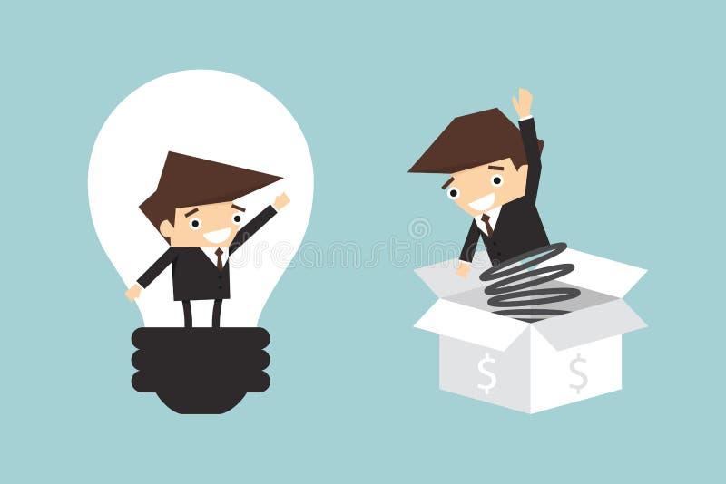 coopere ilustração royalty free