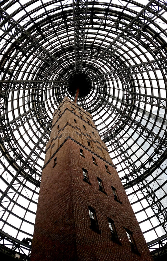 Coops skotttorn i Melbourne fotografering för bildbyråer