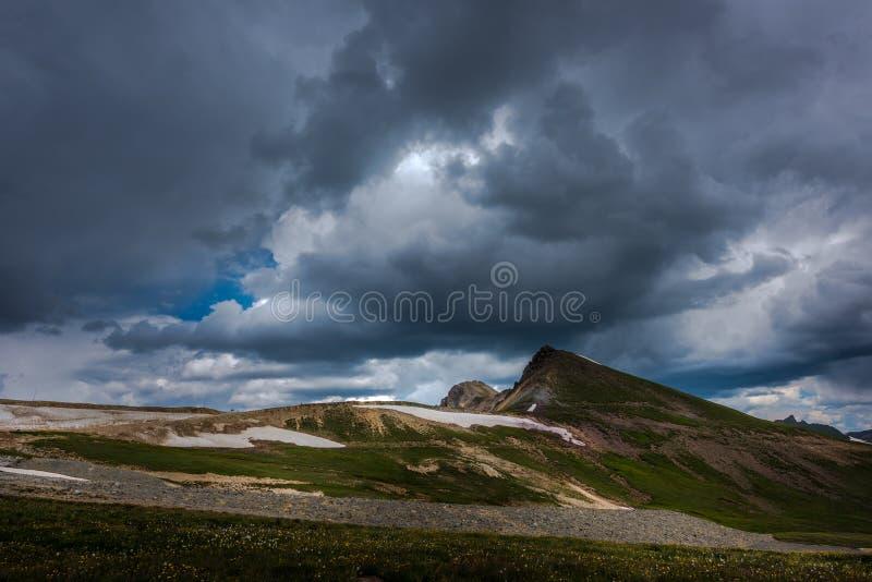 Coordenador Pass Alpine Loop fotografia de stock