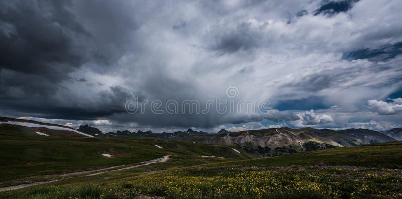 Coordenador Pass Alpine Loop fotos de stock royalty free