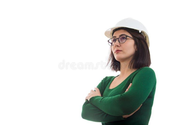 Coordenador seguro da mulher fotos de stock