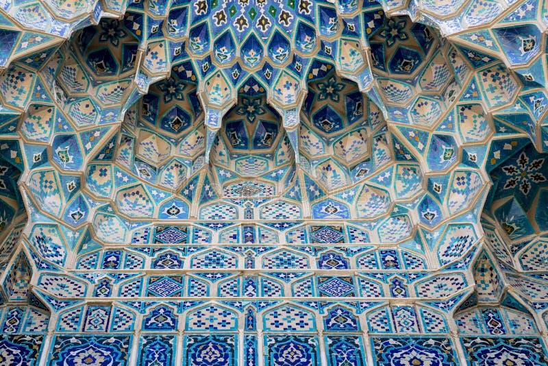 Coordonnée de Gur-E Amir Mausoleum, la tombe du conquérant asiatique images libres de droits