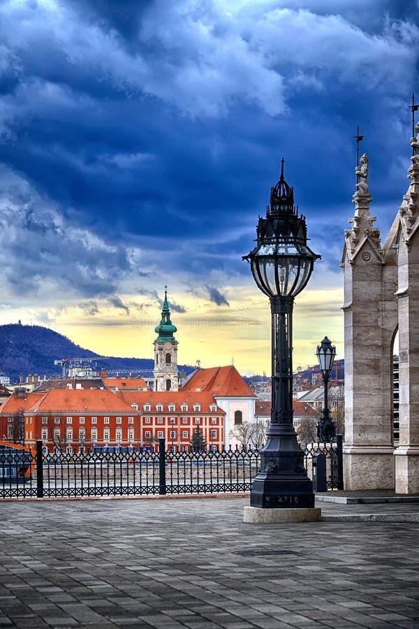 Coordonnée du Parlement de Budapest photos libres de droits