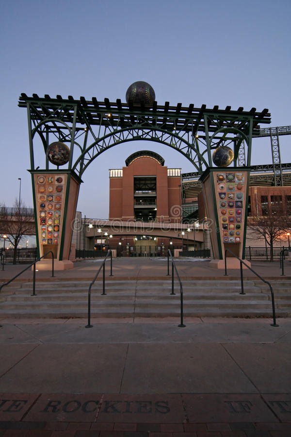 Coors Field - Colorado Rockies Baseball stock images