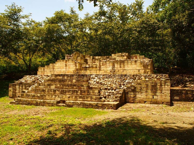 Copán - Honduras. Archaeological park Copán - Honduras royalty free stock photo