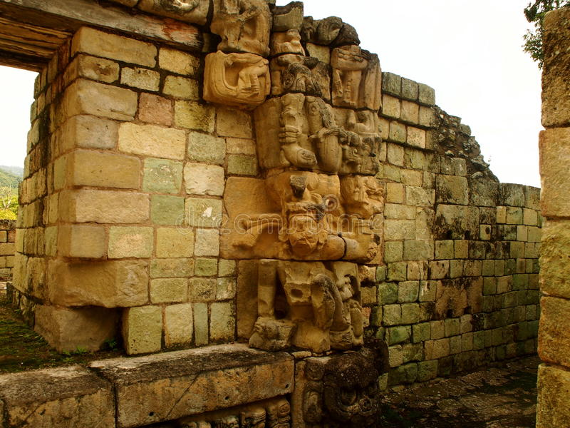 Copán - Honduras. Archaeological park Copán - Honduras royalty free stock image
