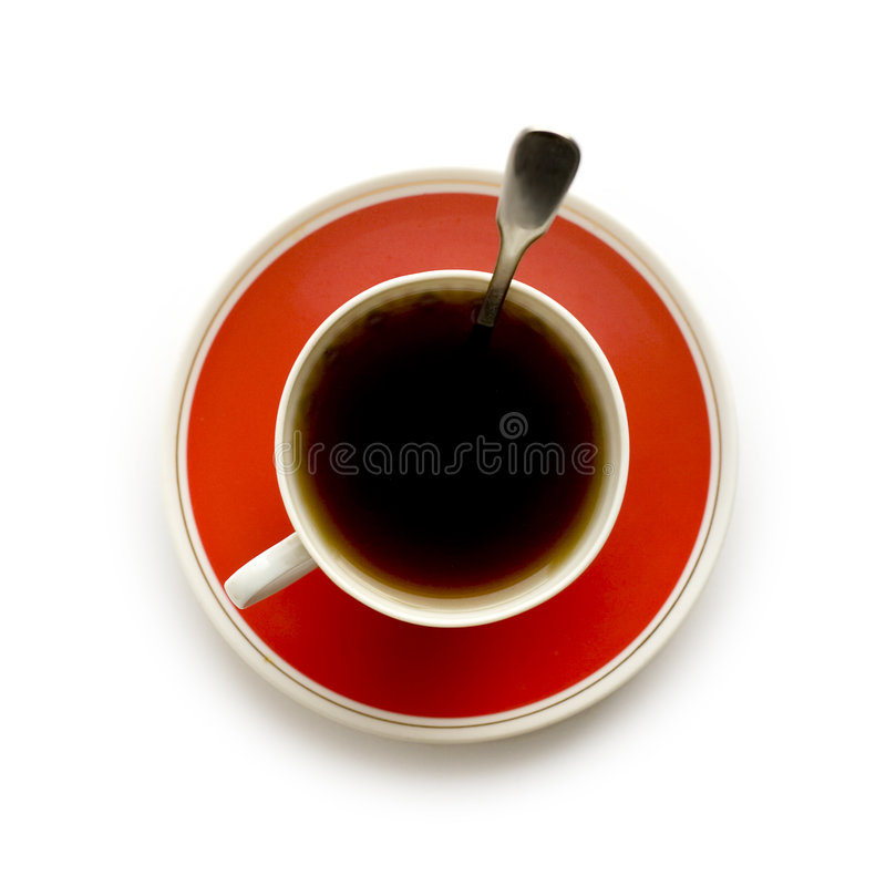 Download Cop of coffee stock image. Image of white, breakfast, stirring - 2867771