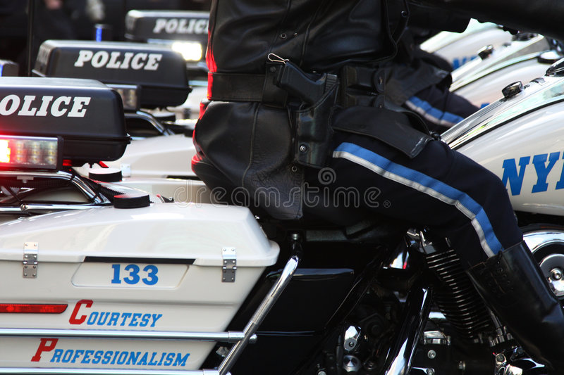 Download Cop de moto photo stock. Image du neuf, sécurité, professionnel - 8654038