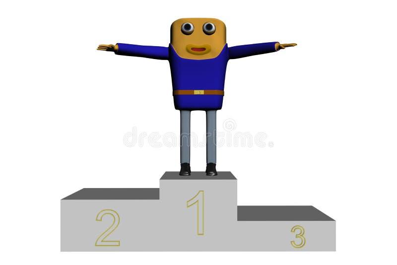 Download Cop win stock illustration. Image of design, black, speed - 9138540