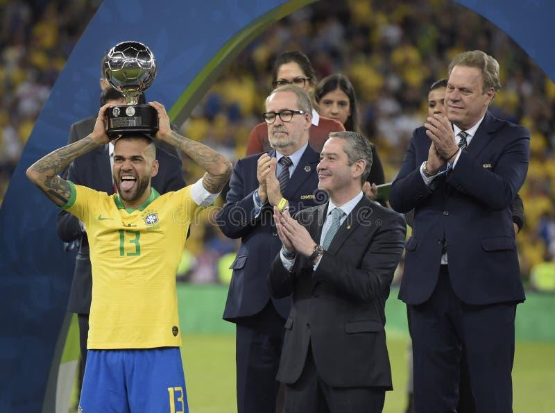 Copa美国巴西2019年 库存图片