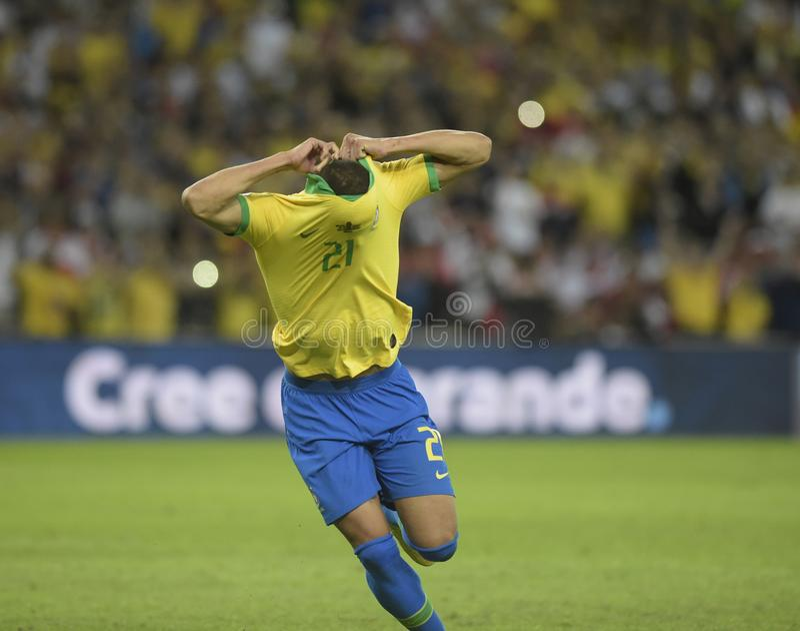 Copa美国巴西2019年 库存照片
