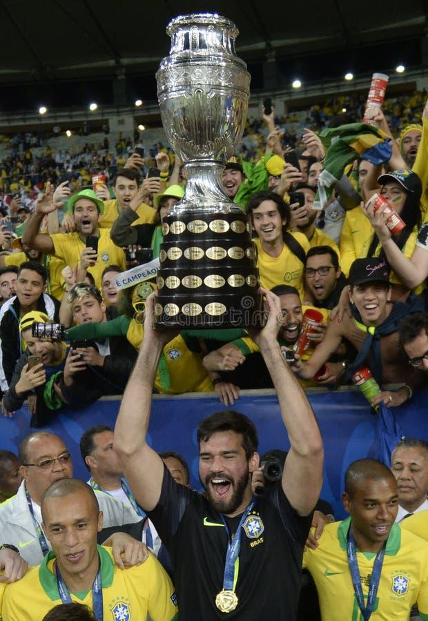 Copa América Brasil 2019 foto de stock royalty free