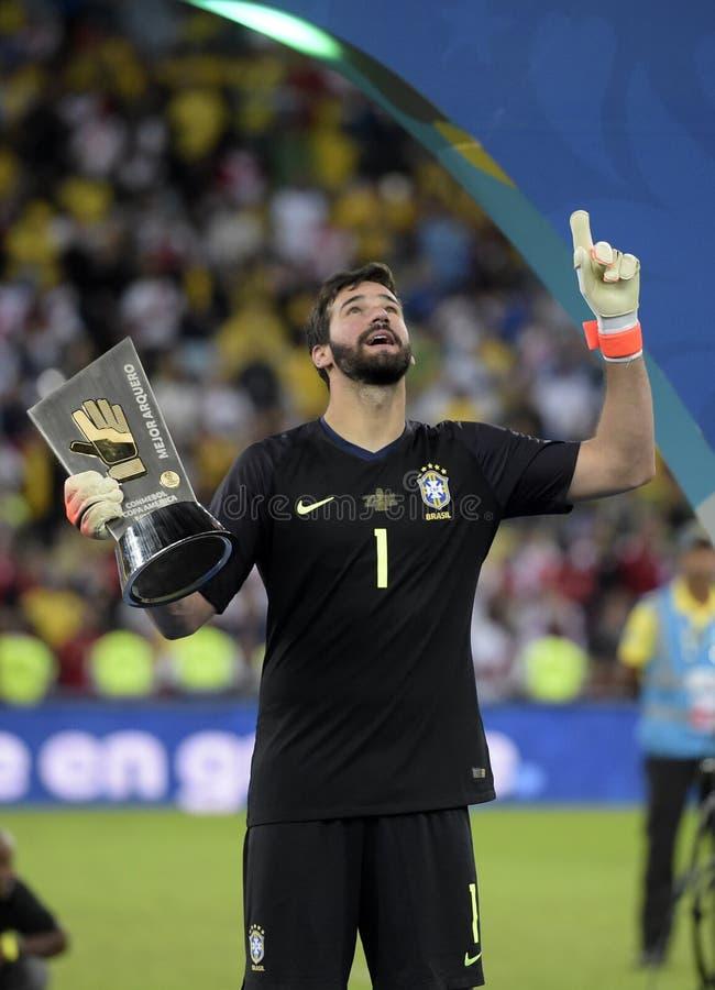 Copa América Brasil 2019 foto de stock
