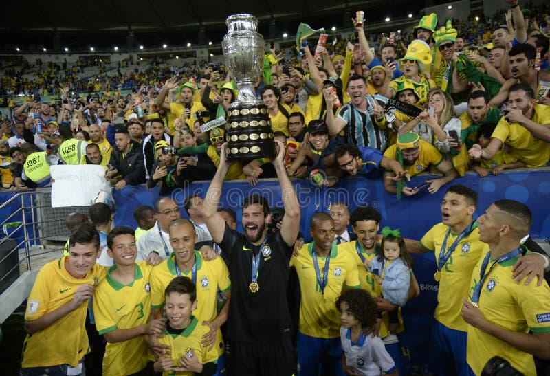 Copa América Brasil 2019 fotografia de stock royalty free