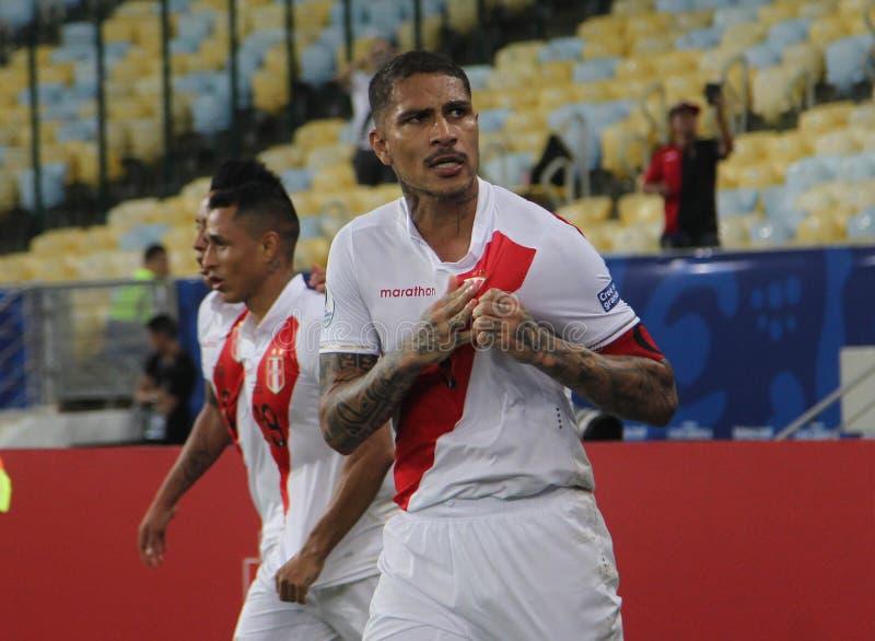 Copa america. Bolivia vs Peru  Conmebol Copa America, Group A, International Football Match, Maracana Stadium, Rio De Janeiro, Brazil royalty free stock image