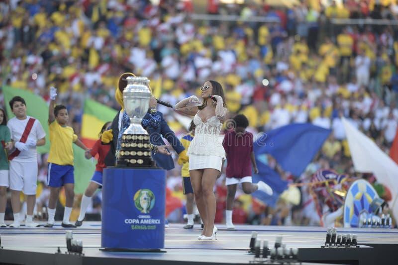 Copa Amerika Brasilien 2019 royaltyfria foton