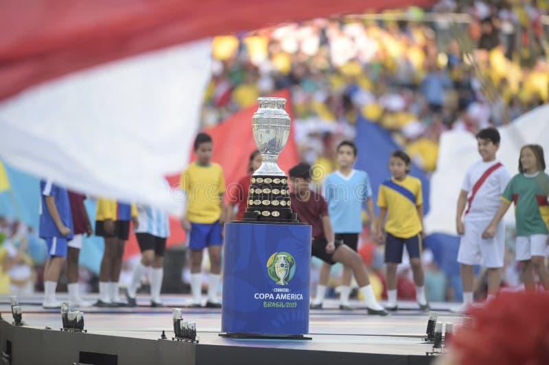 Copa Amerika Brasilien 2019 arkivbild