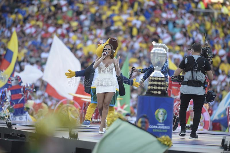 Copa Amerika Brasilien 2019 royaltyfri fotografi