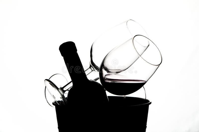 Copa de vino roja foto de archivo libre de regalías