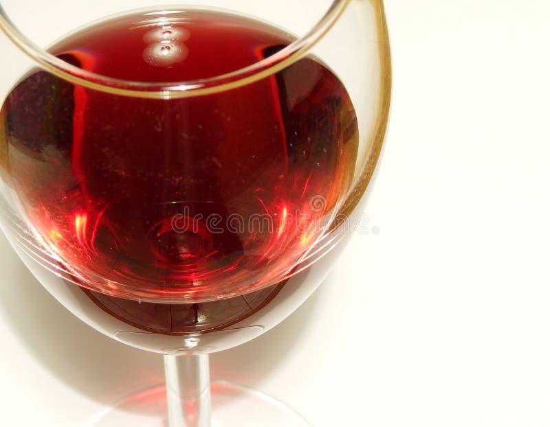 Copa del vino fotografía de archivo
