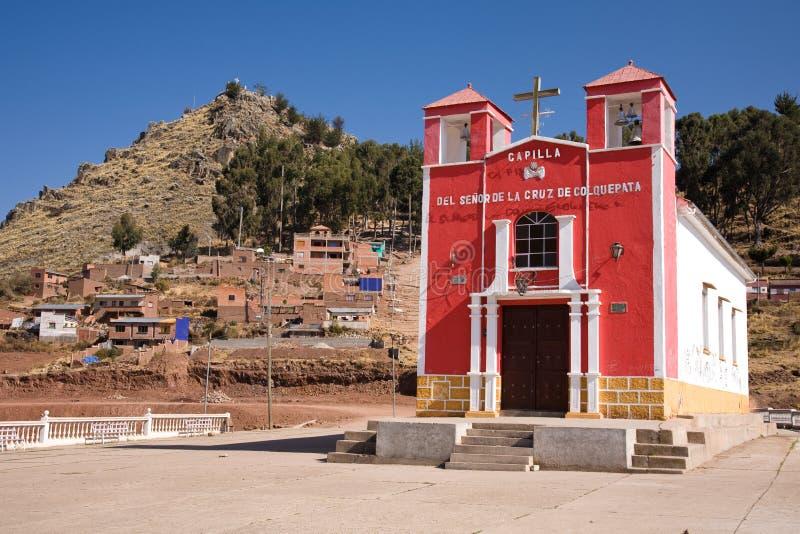 copacabana Боливии стоковые фотографии rf