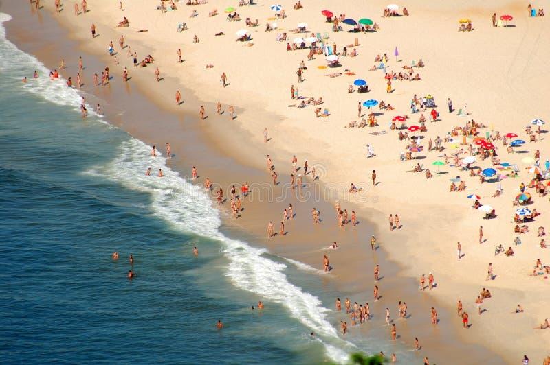 Copacabana fotografía de archivo libre de regalías