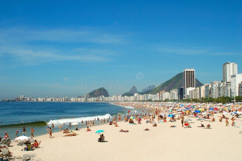 Copacabana imagen de archivo libre de regalías