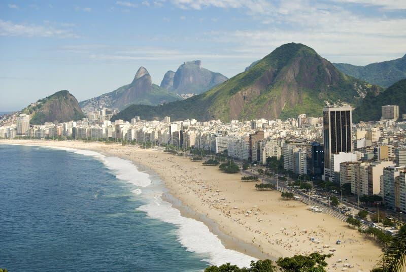 Copacabana fotografie stock libere da diritti