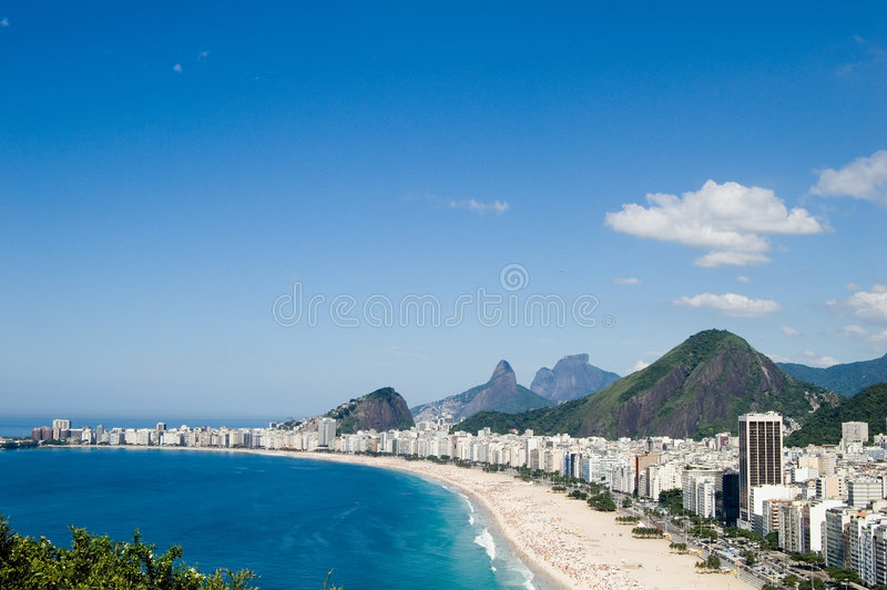 copacabana obraz royalty free