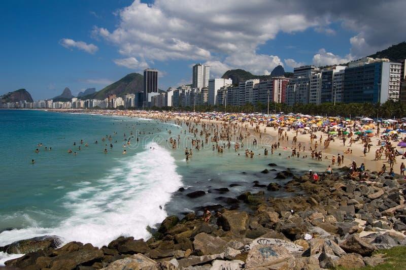 Copacabana stockbild