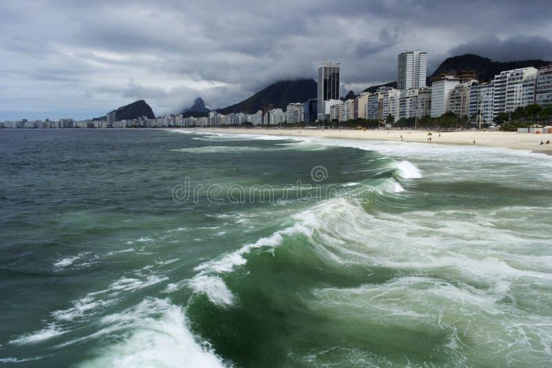 copacabana foto de archivo libre de regalías