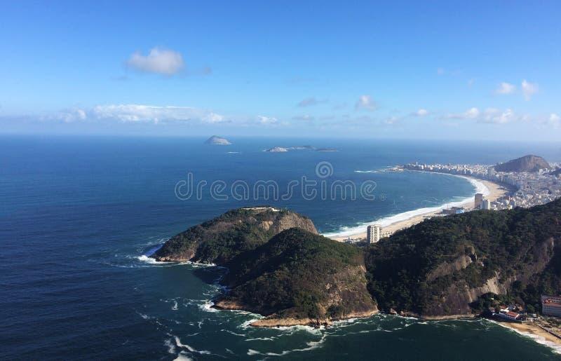 Copacabana Beach, Rio de Janeiro, Brazil stock images
