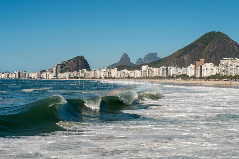 Copacabana Beach royalty free stock photo