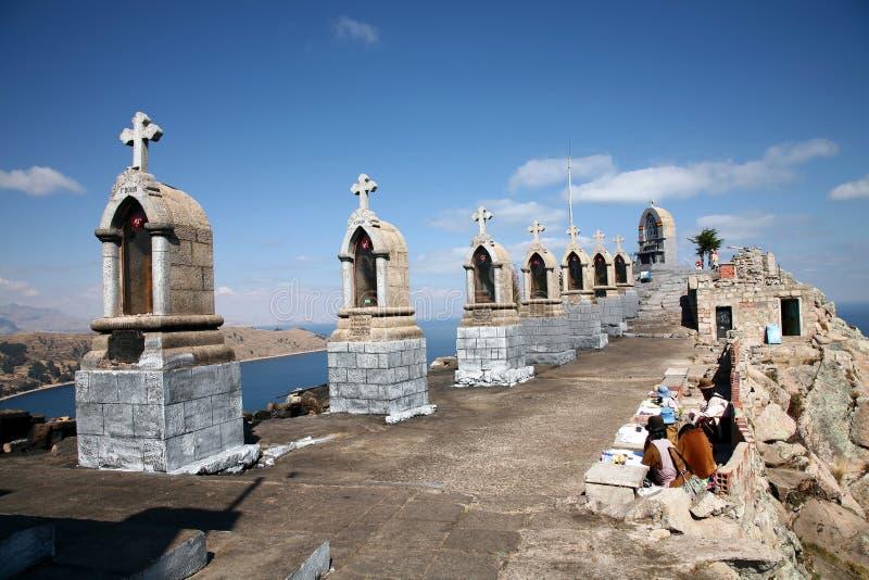 Copacabana, Bolívia fotografia de stock