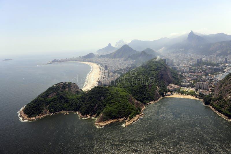 copacabana de janeiro praiario vermelha royaltyfria foton