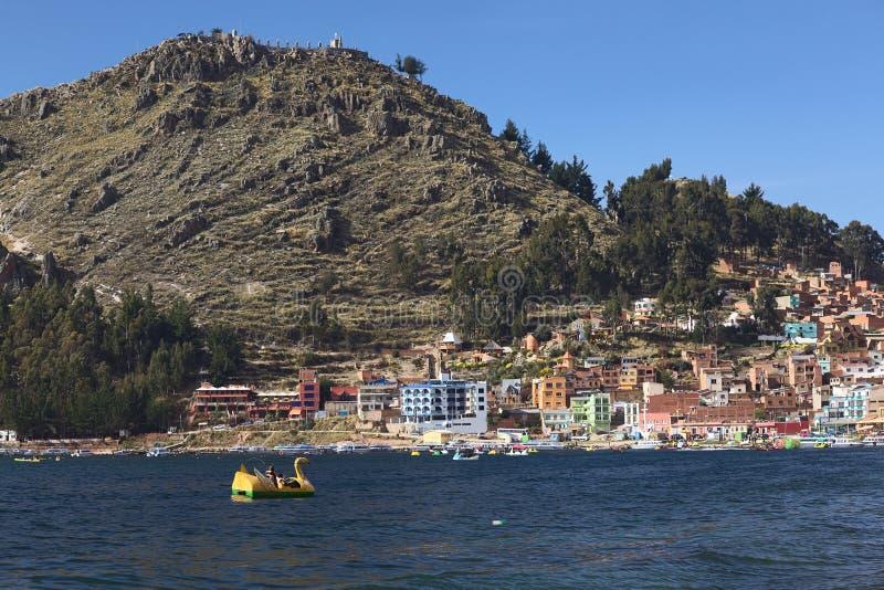 Isla Del Sol In Lake Titicaca, Bolivia Editorial Image ...
