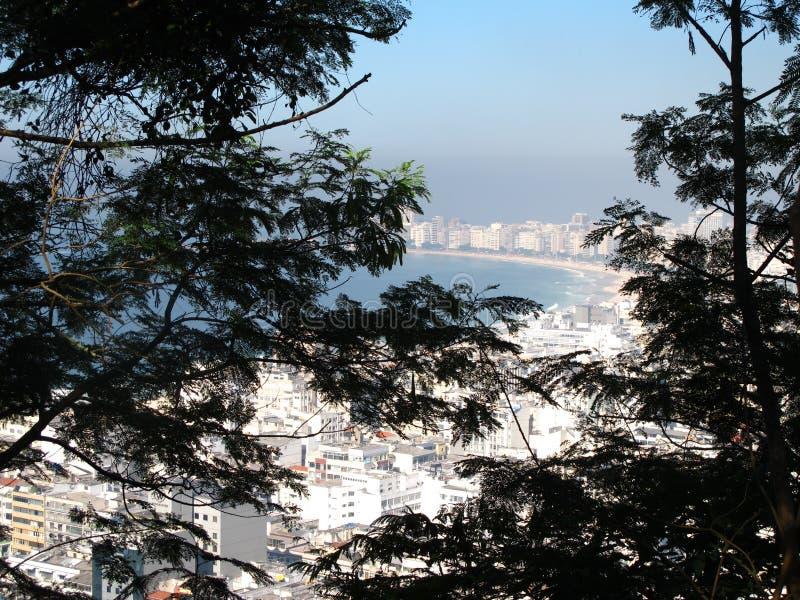 Copacabana Plaża obraz stock