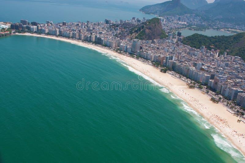 Copacabana Strand stockfoto