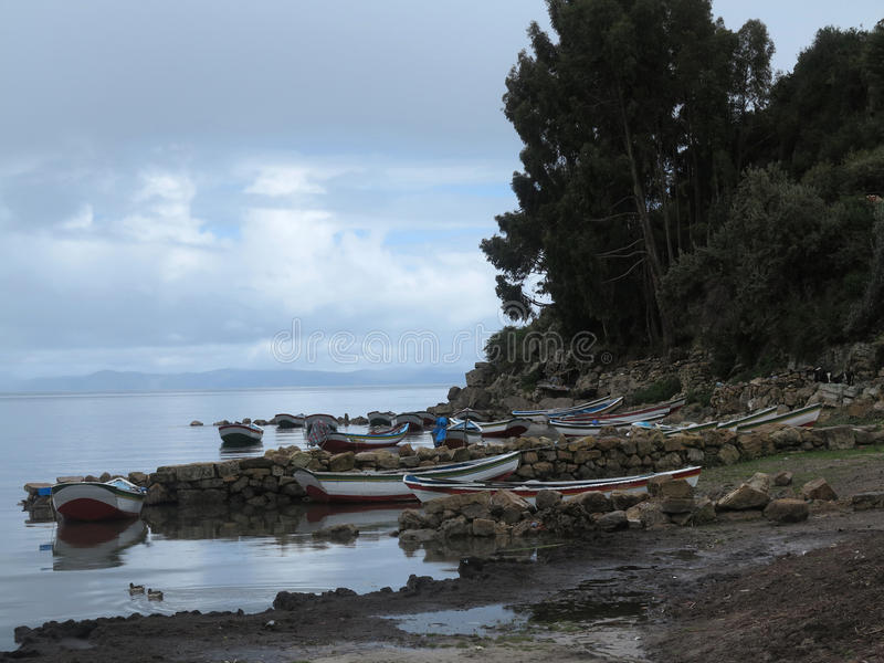 Download Copacabana, titicaca lake stock image. Image of scenic - 39510035