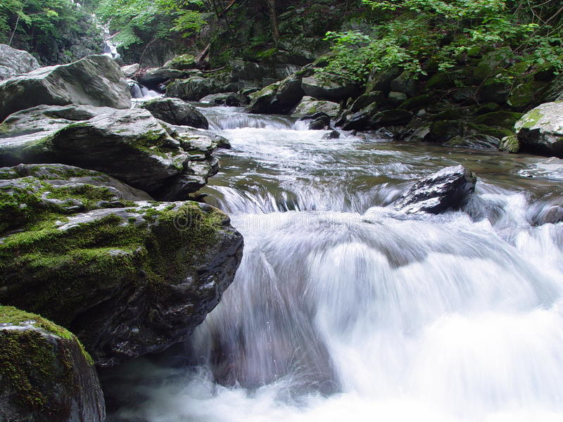Copake fällt takonischer Nationalpark New York lizenzfreies stockbild