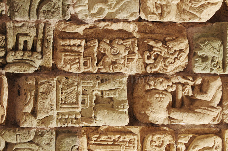 copan洪都拉斯博物馆 免版税库存图片