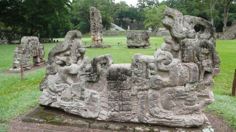 Copan, Honduras stockbilder