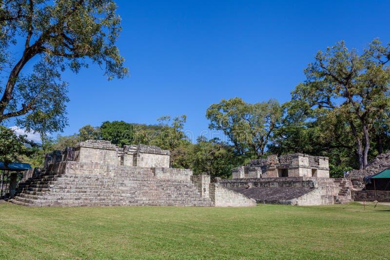 Copan Ruinas. The Mayan Ruin in Honduras stock photography