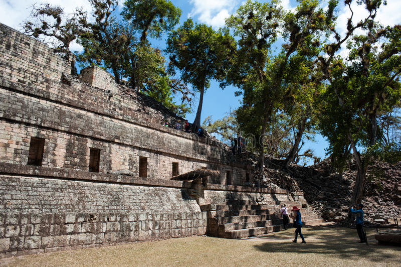 Copan Ruins royalty free stock photos