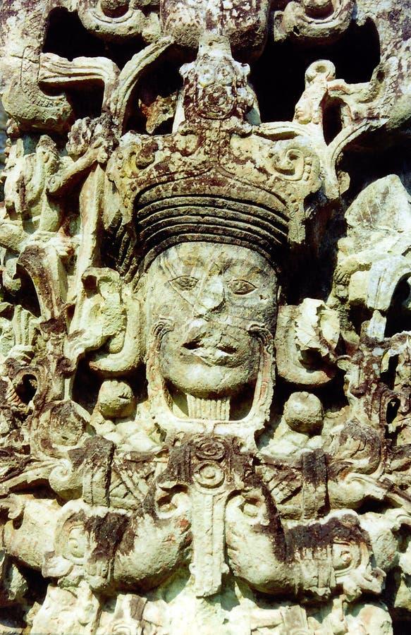 Download Copan stelae miast obraz stock. Obraz złożonej z świątynia - 137413