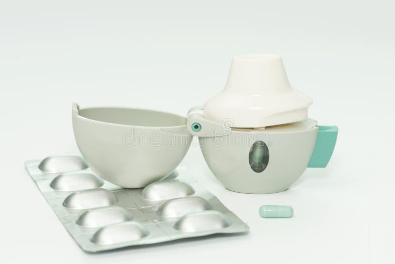 COPD inhalator obraz royalty free