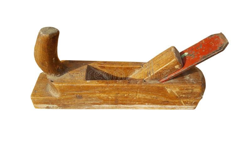 Copeaux après le plan du bois image stock
