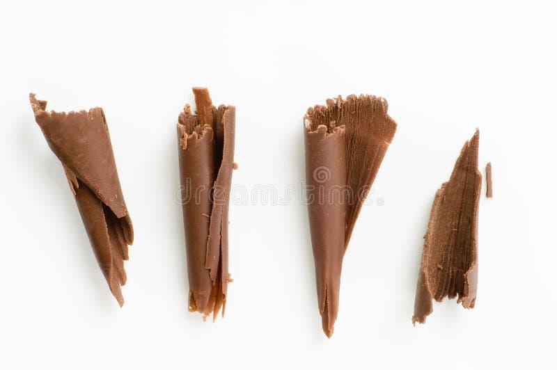 copeaux de chocolat images libres de droits