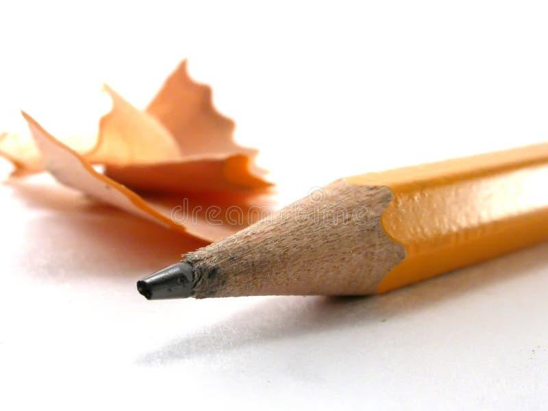 Copeaux De Crayon Images libres de droits